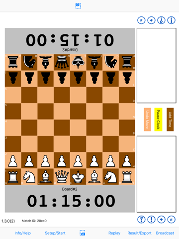 Chess Notation and Clock - náhled