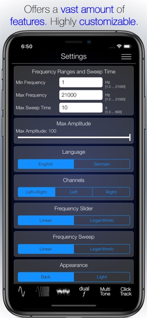 Audio Function Generator on the App Store