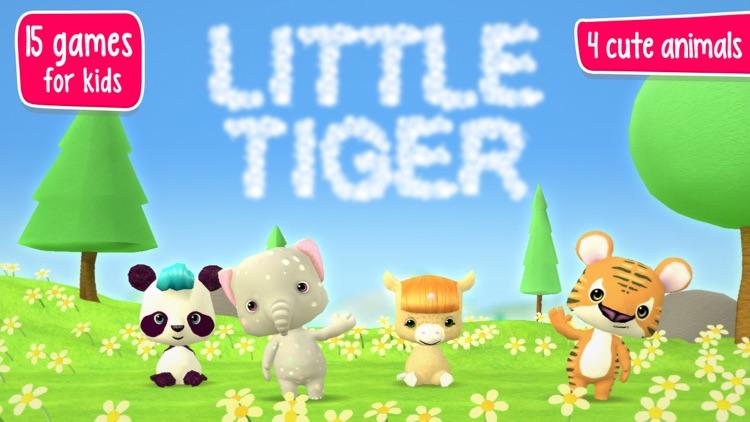 Little Tiger: Firefighter App screenshot-0