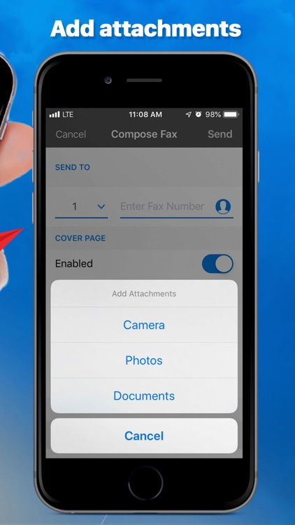 eFax App–Send Fax from iPhone