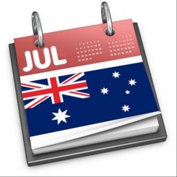 Australian Calendar 2021