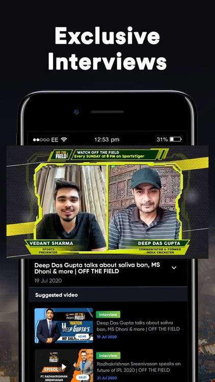 SportsTiger Cricket Live Score screenshot-9
