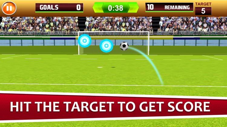 Flick Shoot Soccer Champion 18
