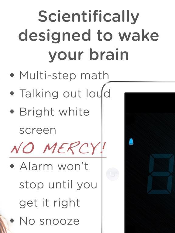 Math Alarm Clock - Wake up! Скриншоты8