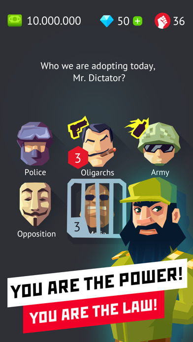 Dictator - Rule the World Screenshot