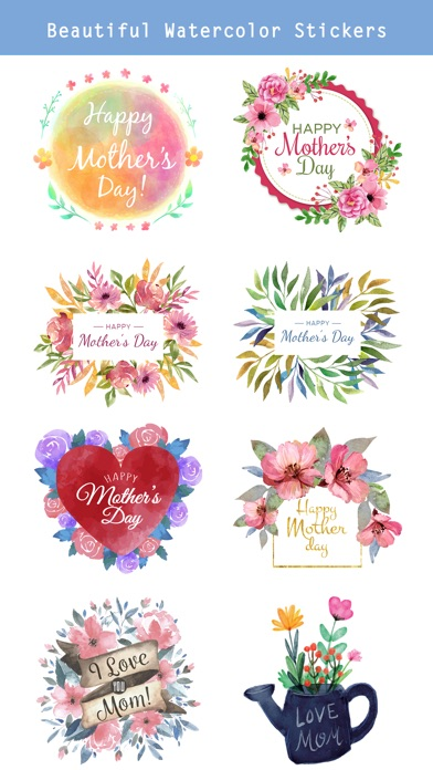 Watercolor Mother's Day Pack screenshot 2