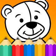 儿童涂色: 画画游戏幼儿