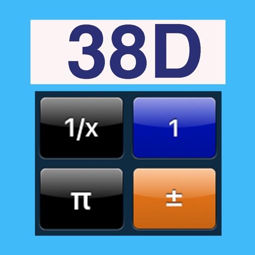 Scientific Calculator DES-38D