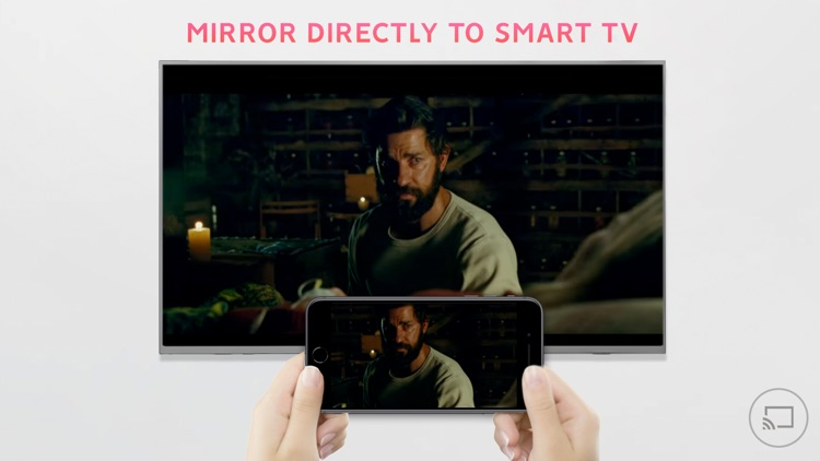 Mirror for SHARP TV