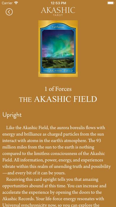 Akashic Tarot screenshot 4