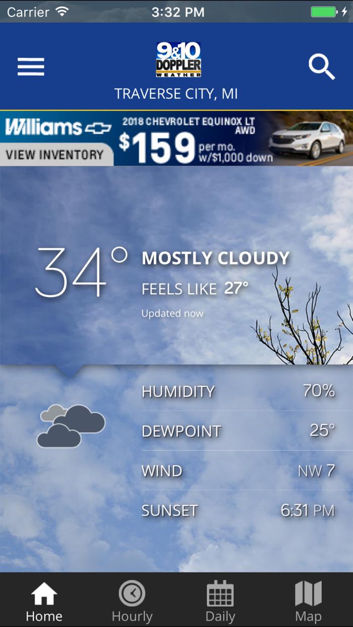 Doppler 9&10 Weather Team Screenshot