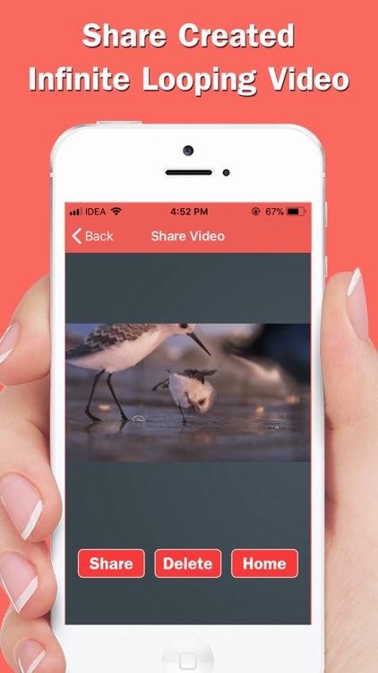 Infinite Loop Video & Reverse screenshot-5