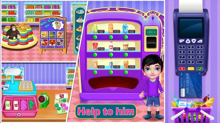 Supermarket Shopping Game screenshot-4