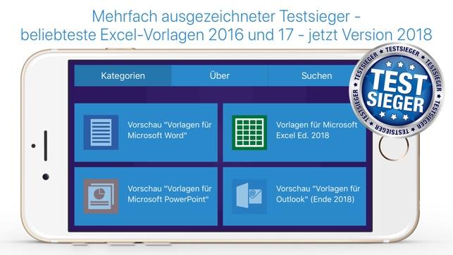 Office Vorlagen Für Microsoft Word Excel Im App Store