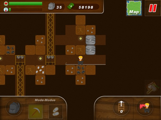 Screenshot #3 for Treasure Miner - 2d gem mine