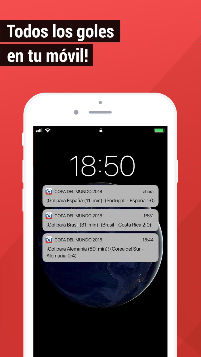 Mundial 2018 Resultados live Screenshot
