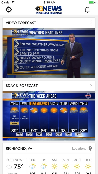 Top 10 Apps like 6abc Stormtracker for iPhone & iPad