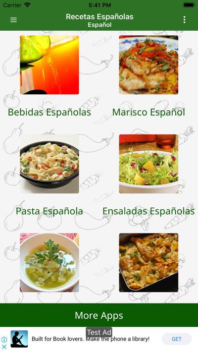 Recetas Espanolas screenshot three