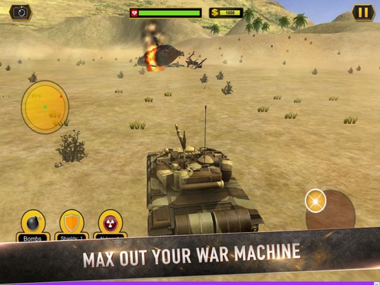Real Battle Blitz: Tank 3D War screenshot 6