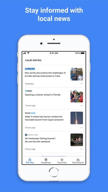 Google News screenshot-3