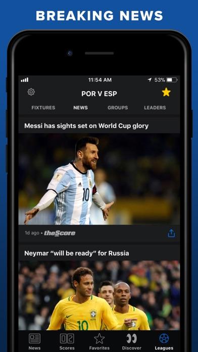 theScore: Sports News & Scores screenshot three