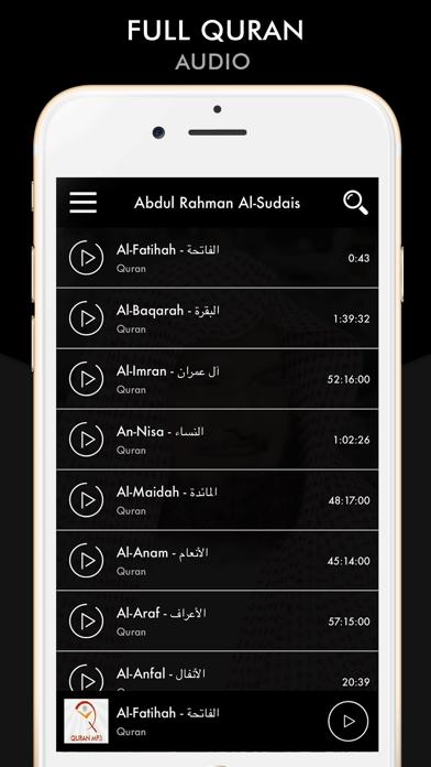 Quran - Abdul Rahman Al-Sudais screenshot one