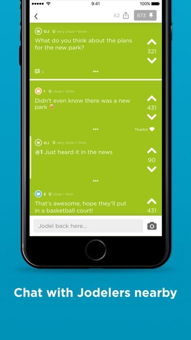 Jodel - Hyperlocal Community Screenshots
