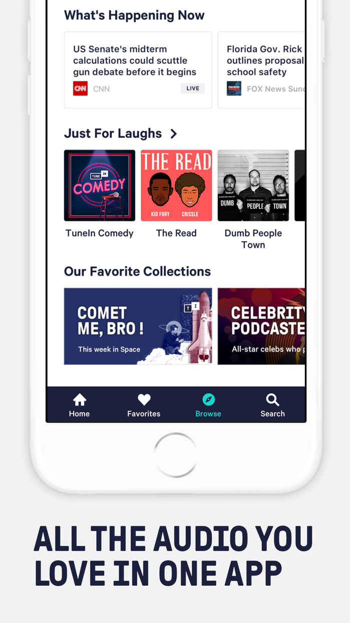 TuneIn: Radio, NBA & Podcasts Screenshot
