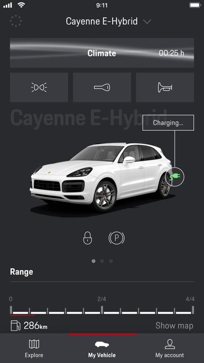 Porsche Connect App screenshot-5