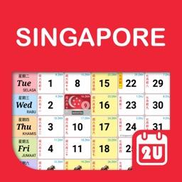 Singapore Calendar 2021 - 2022