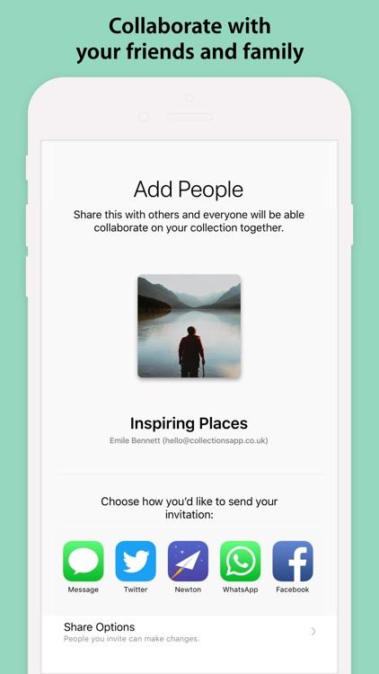 Collections - Photos & Notes screenshot-5