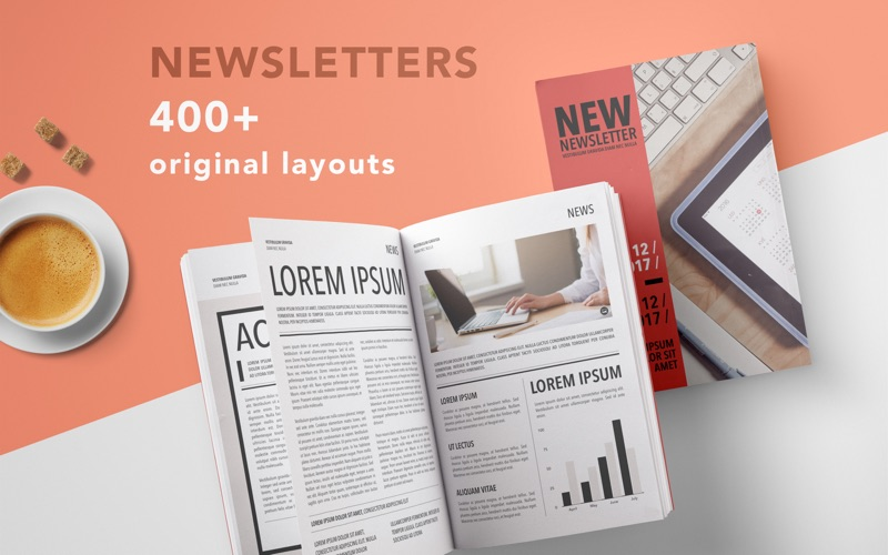 Newsletters design templates app price drops screenshot 1 for newsletters design templates maxwellsz