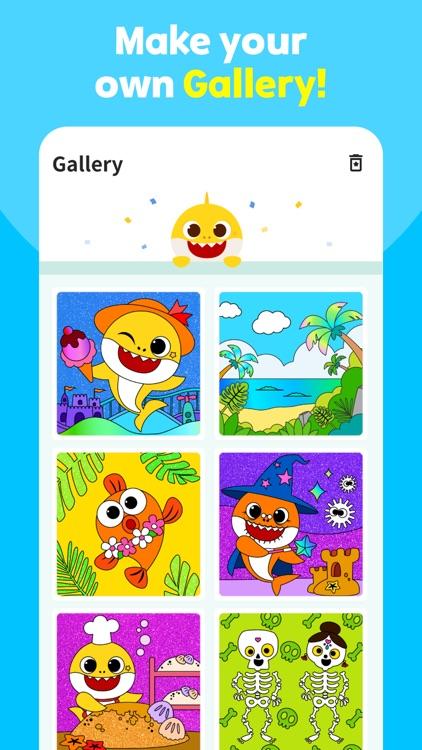 Baby Shark Coloring Book screenshot-3