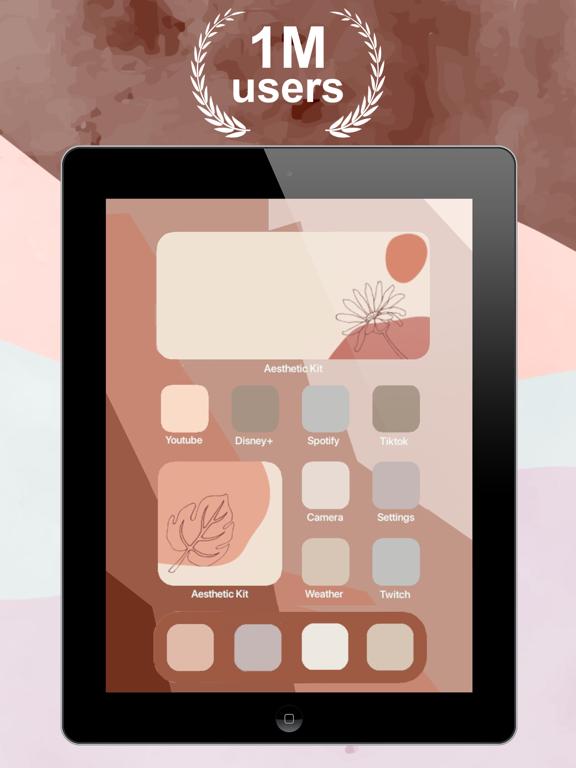 iPad Image of aesthetic kit