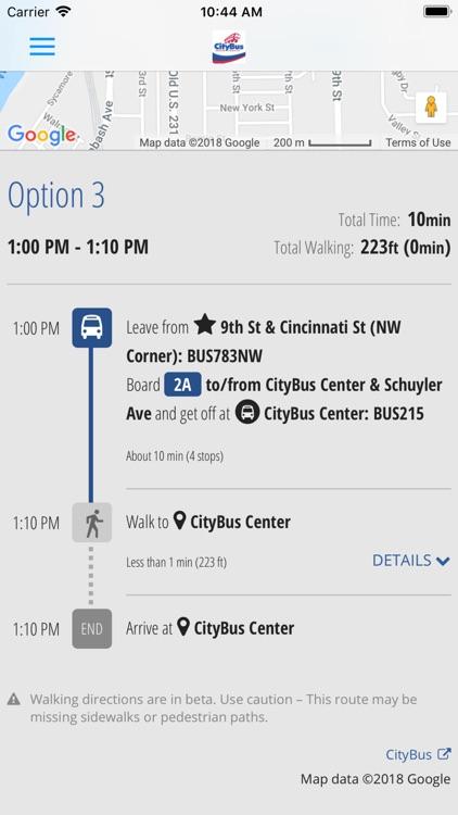 MyCityBus screenshot-8