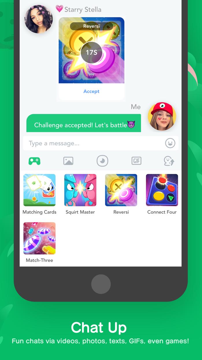 BOO! - Group Text & Video Chat Screenshot