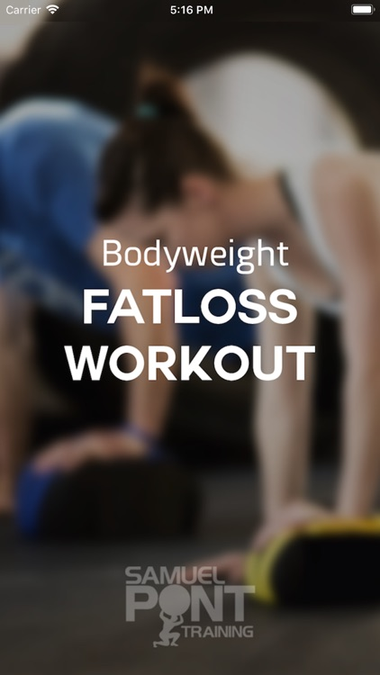 Body Weight Fat loss Workout screenshot-0