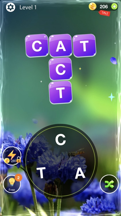 Word Cross - a crossword game screenshot-1