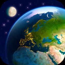 Ícone do app Earth 3D