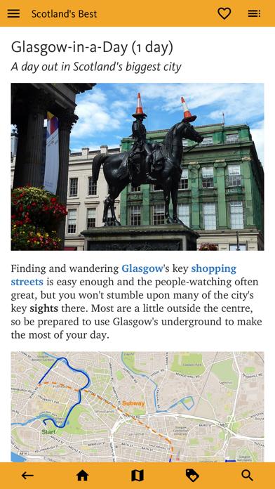 Scotland's Best: Travel Guide screenshot 4