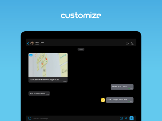 iPad Image of BiP - Messenger, Video Call