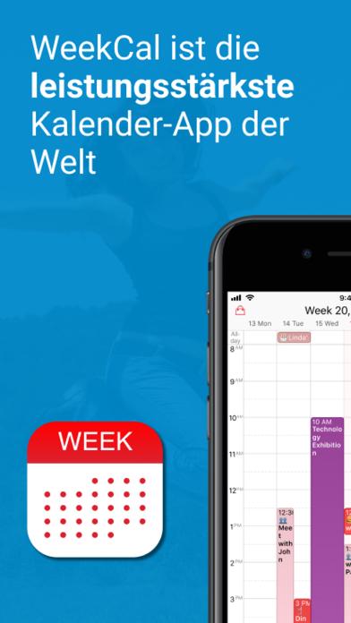 WeekCalendar - Cloud KalenderScreenshot von 1
