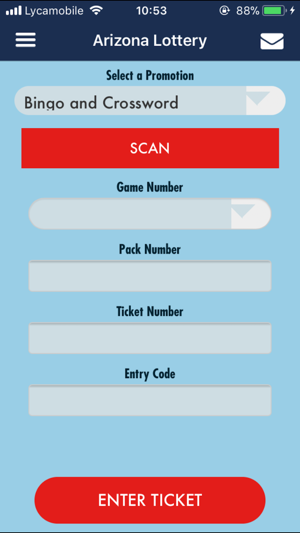 Lottery Entry Code