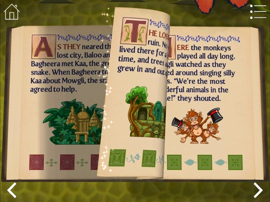 StoryToys Jungle Book Screenshots