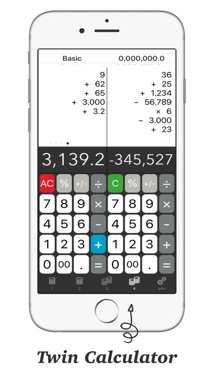 Calculator + - Twin Plus App # screenshot-2