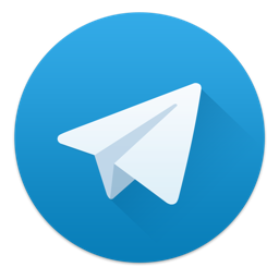 Ícone do app Telegram Desktop