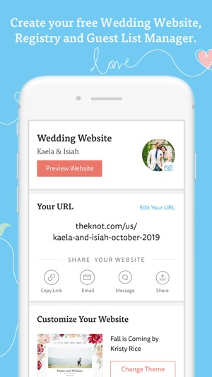 Wedding Planner By The Knot On