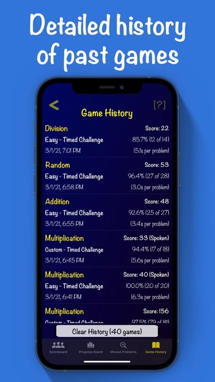 Mental Math Cards Games & Tips screenshot-9