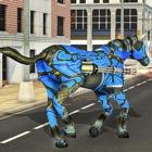 cavalo robô transformação icon