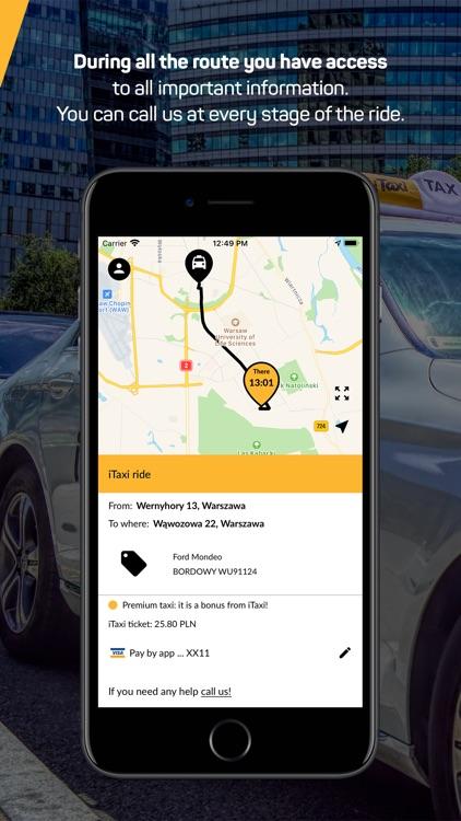 iTaxi - The Taxi App screenshot-4